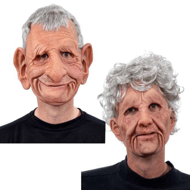 dogsfuns old man mask